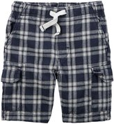 Carter's Woven Shorts (Toddler/Kid) - Plaid - 5T