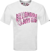 Billionaire Boys Club Leopard Arch T Shirt White