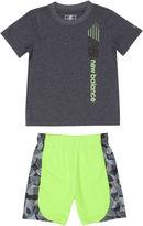 New Balance Boys 2-pc. Short Sleeve Short Set