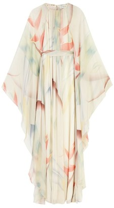 Etro Foliage Print Kaftan Dress