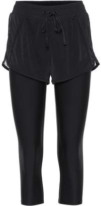 Alo Yoga High-rise two-in-one leggings