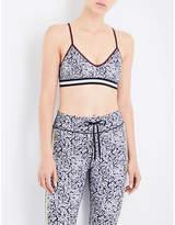 The Upside Ditsy floral-print sports bra