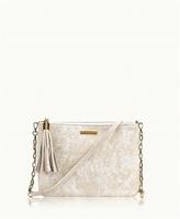 GiGi New York Chelsea Crossbody Shagreen Leather