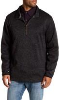 Weatherproof Partial Zip Fleece Sweater