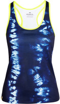 Monreal London Essential Printed Stretch-jersey Tank - Navy
