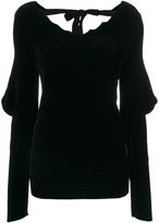 Loewe raw edge V-neck sweater