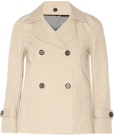 Golden Goose Deluxe Brand Doris cotton-blend gabardine peacoat