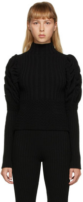 Paula Canovas Del Vas Black Knit Turtleneck