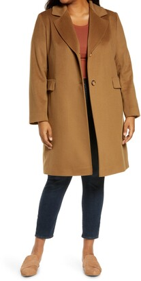 Fleurette Notch Collar Walking Coat