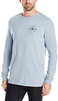 Nautica Men's Diamond Anchor Graphic Long Sleeve T-Shirt