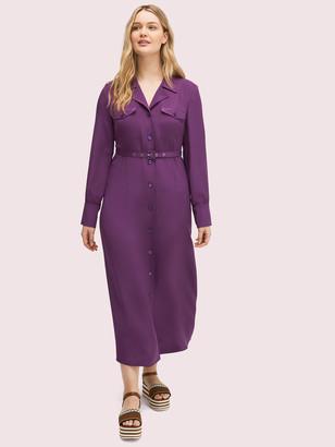 Kate Spade Silk Pocket Shirtdress