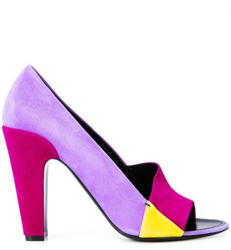 Fabrizio Viti colour block sandals