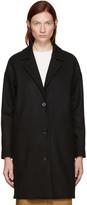 Won Hundred Black Wool Key Coat