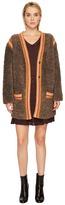 M Missoni Knit Fur w/ Trim Jacket Women's Coat