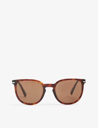 Persol PO3226S phantos-frame Havana sunglasses
