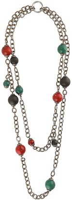 DSQUARED2 Multi-Strand Beaded Necklace