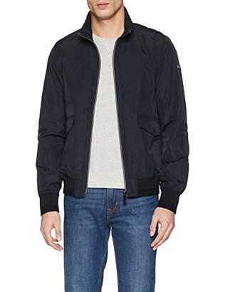 Scotch & Soda Men's Classic Short Jacket in Nylon Quality (Black 0008)