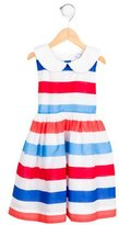 Rachel Riley Girls' Striped A-Line Dress