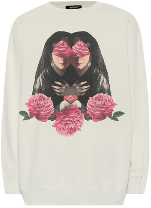 Undercover Printed cotton jersey sweatshirt