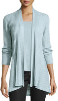 Eileen Fisher Fine Tencel® Ribbed Open Cardigan