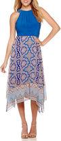 Studio 1 Sleeveless Halter Maxi Dress