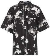 Erdem Liana floral-printed silk shirt