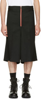 Ambush Black Wool Boxer Shorts
