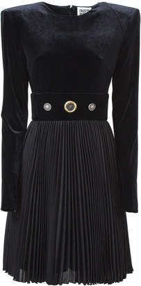 Fausto Puglisi Black Velvet Dress