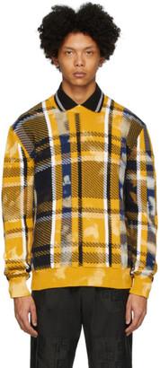 Versace Yellow Acid Crewneck Sweater