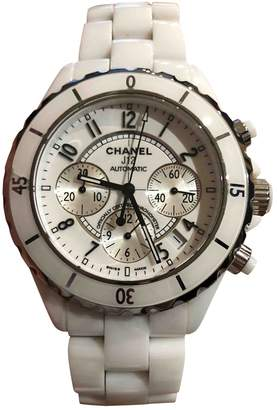 Chanel J12 Automatique White Ceramic Watches