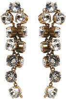 Balenciaga Gold Twist Earrings
