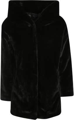 Herno Large Hood Fur Coated Jacket