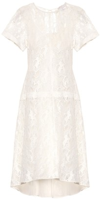 Chloé Cotton-blend lace dress