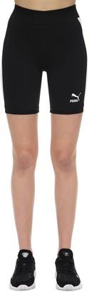 Puma Select Classic Cotton Biker Shorts