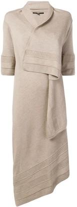 Gianfranco Ferré Pre-Owned Wrap Asymmetric Cardi-Coat