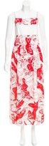 Carven Printed Midi Dress w/ Tags