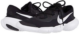 Nike Free RN 5.0 2020 (Black/White/Anthracite) Men's Shoes