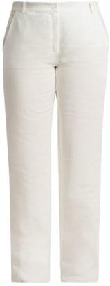 Marina Rinaldi, Plus Size Voyage Rigoli Straight-Leg Linen Pants