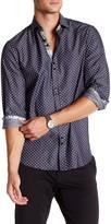 Coogi Dot Pattern Regular Fit Dress Shirt