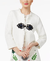 Cynthia Rowley CR By Fringe-Trimmed Jacket, Created for Macy's