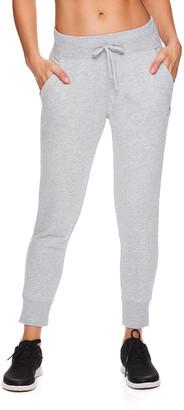 Reebok Women's Active Pants GREY - Gray Heather Trainer 7/8 Joggers - Women