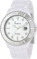 Freelook Men's HA1437-9C Sea Diver White Dial Bezel Watch