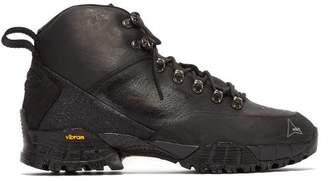 ROA Andreas Leather Boots - Mens - Black Multi
