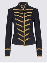 M&S Collection Cotton Rich Jacket