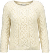 Valentino Cable-knit wool sweater