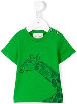 Gucci Kids giraffe print T-shirt