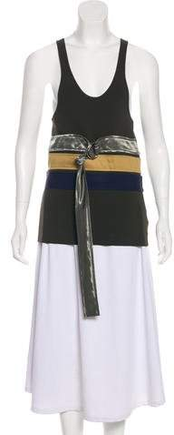 Celine Sleeveless Colorblock Top