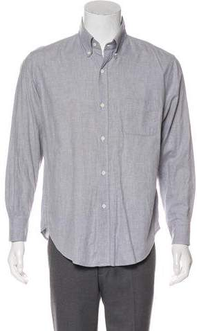 Band Of Outsiders Solid Dress Shirt