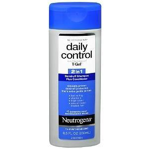 Neutrogena T-Gel 2 in 1 Daily Control Shampoo