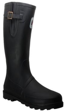 AdTec Men's Expandable Calf Rubber Boot Men's Shoes